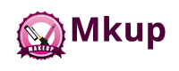 Mkup לוגו